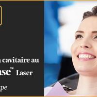 Préparation cavitaire au laser étape par étape